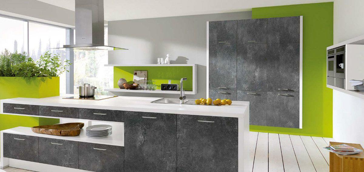 Auswahl Von Farben Und Materialien. Komfort Küche