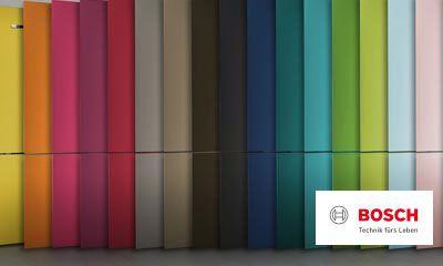 Bosch Kühlschrank Hersteller : Bosch vario style farbige fronten für ihren kühlschrank ihr