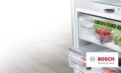 Bosch Vitafresh Kühlschrank : Bosch macht platz bis zu 50 prozent mehr platz und vitafresh pro